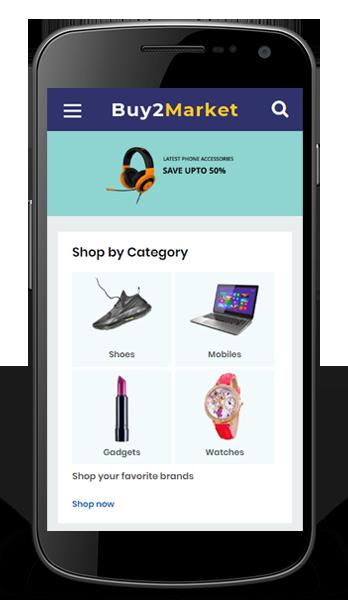 Amazone clone android app