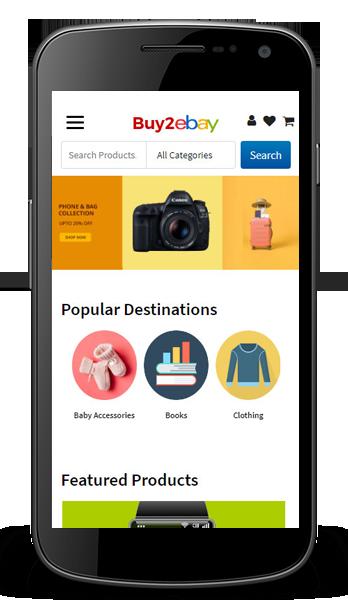 Ebay clone mobile app