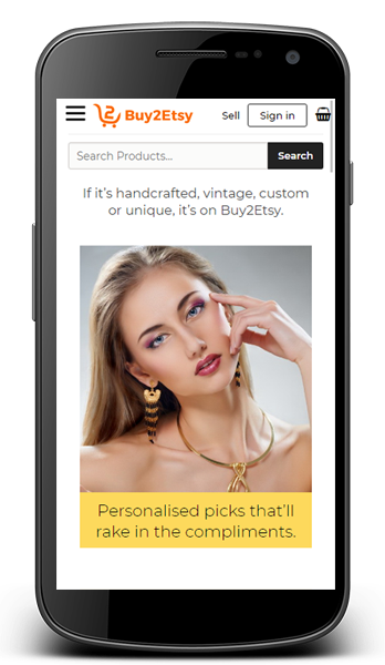 etsy clone Android app