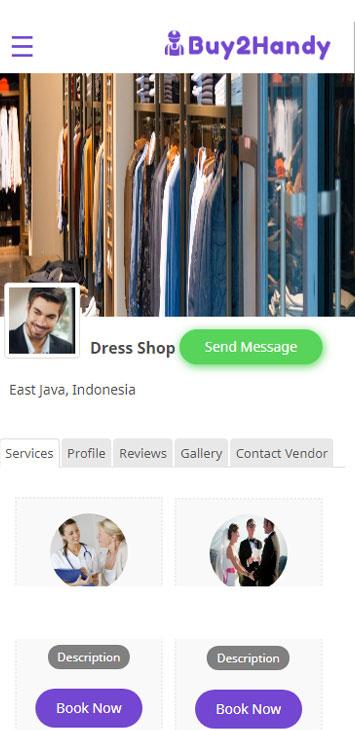 Handy service marketplace