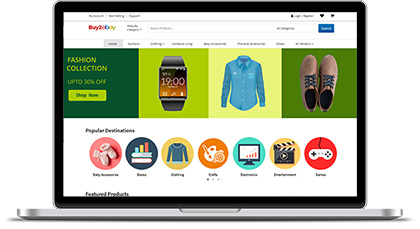 multi vendor ecommerce script - ebay clone