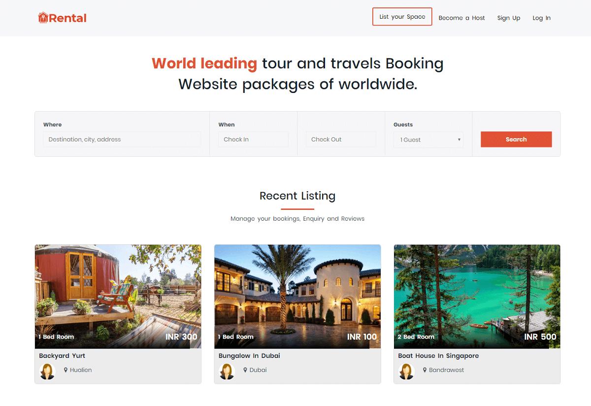 Buy2Rental - Airbnb clone script