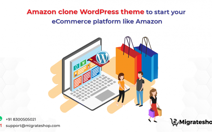Amazon clone Wordpress theme to start your eCommerce platform like amazon