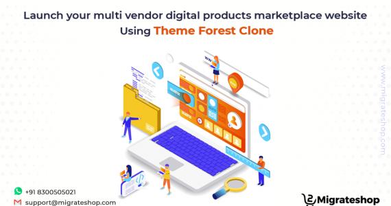 Multi-vendor Digital Products Marketplace