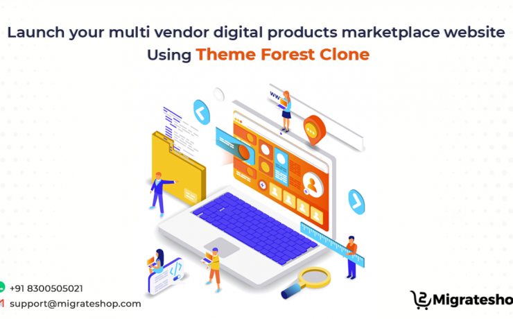 Multi-vendor Digital Products Marketplace