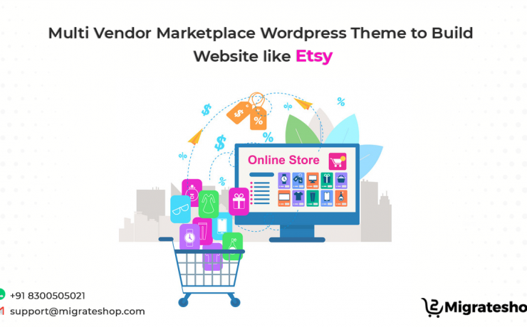 Multi Vendor Marketplace Wordpress Theme to Build Website Like Etsy