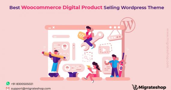 Digital Product Selling WordPress Theme