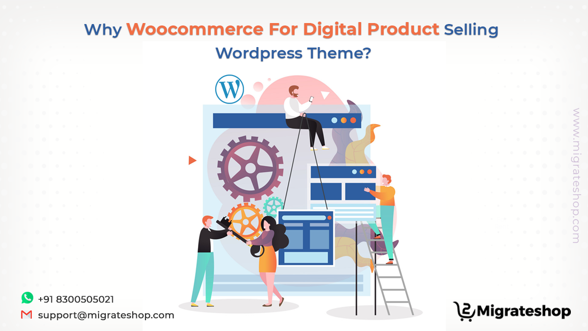 WooCommerce For Digital Product