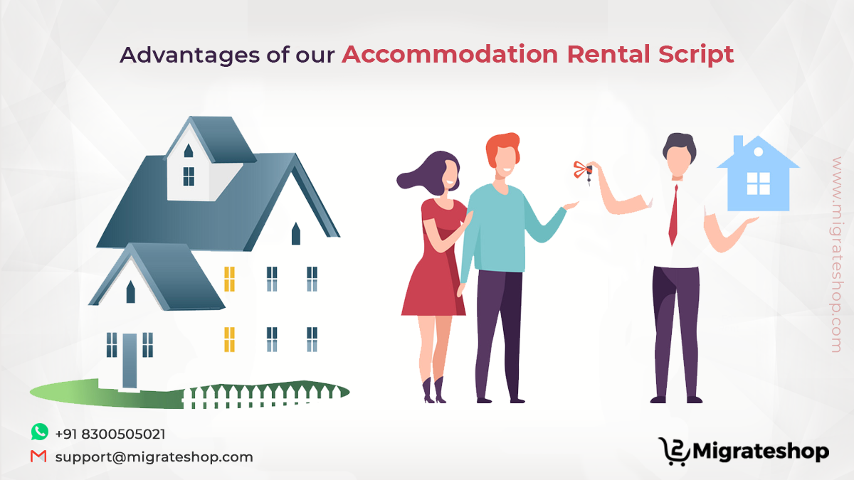 Advantages of our Accommodation Rental Script