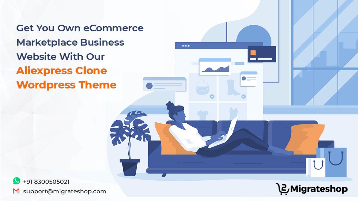 Aliexpress Clone WordPress Theme