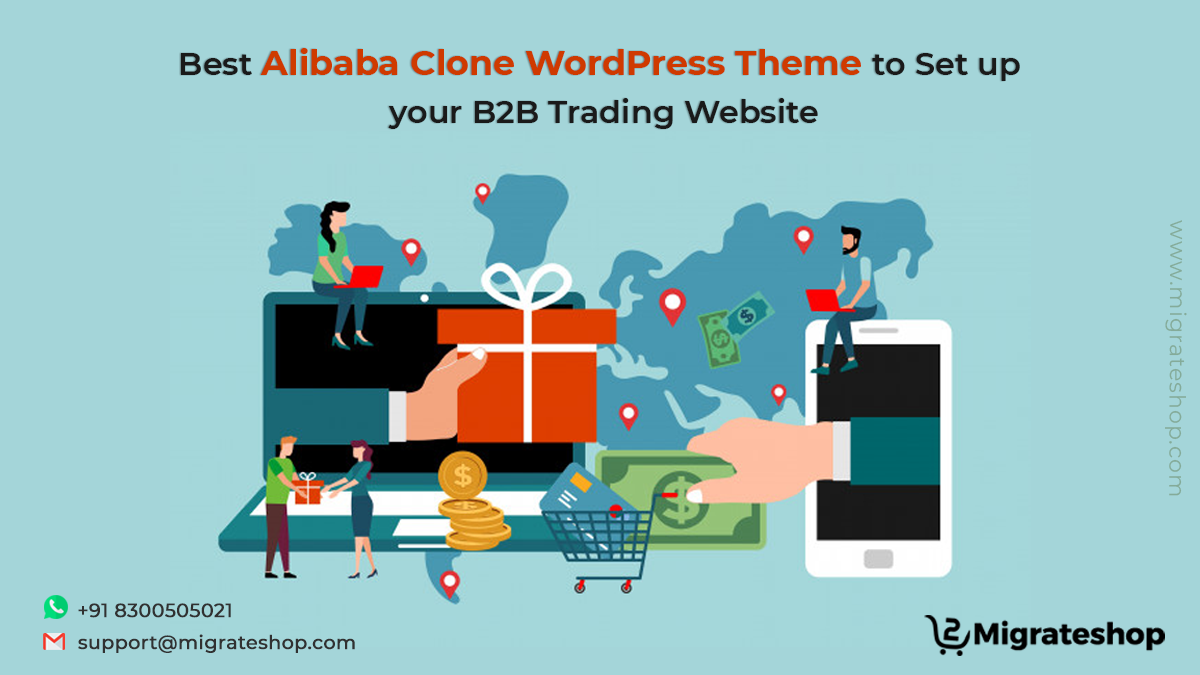 Best Alibaba Clone WordPress Theme to Set up your B2B Trading Website
