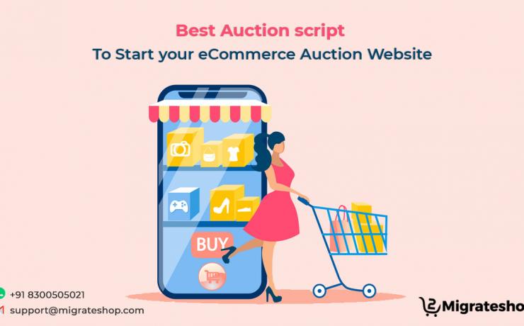 Best Auction script to Start your eCommerce Auction Website