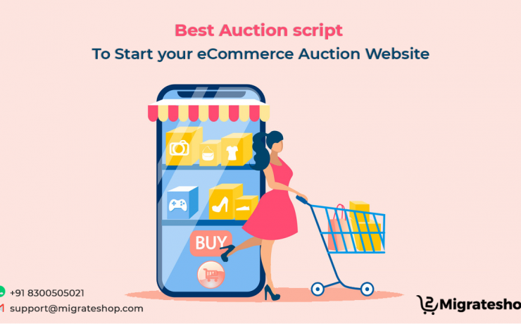 Best Auction script to Start your eCommerce Auction Website