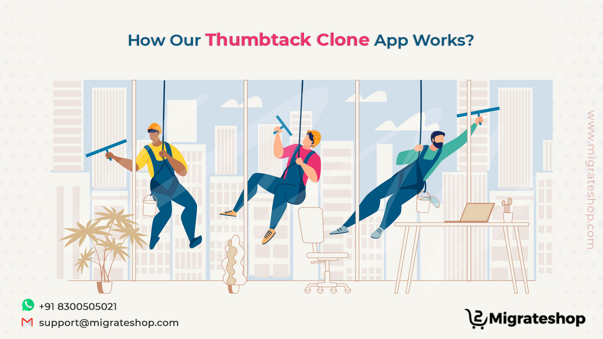 How Our Thumbtack Clone App Works?
