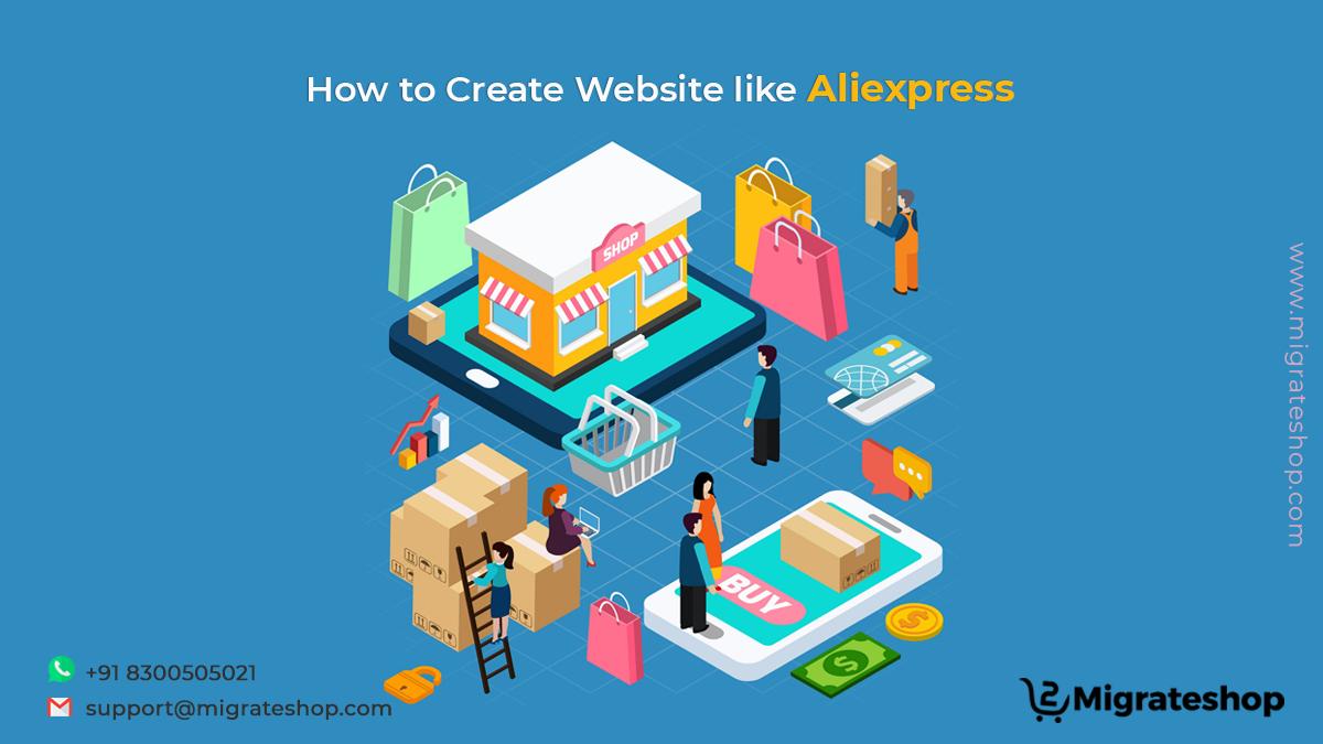 How to Create Website like Aliexpress
