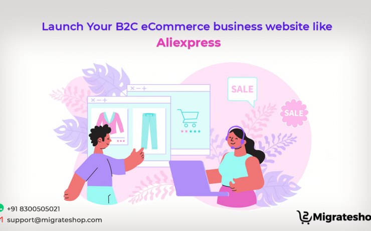 Launch Your B2C eCommerce business website like Aliexpress