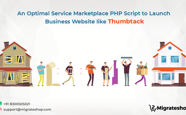 Service Marketplace PHP Script - Thumbtack clone