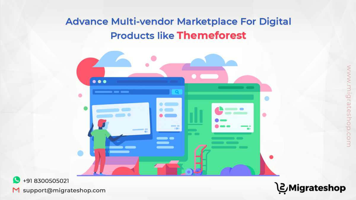 Multi-vendor Marketplace For Digital Products
