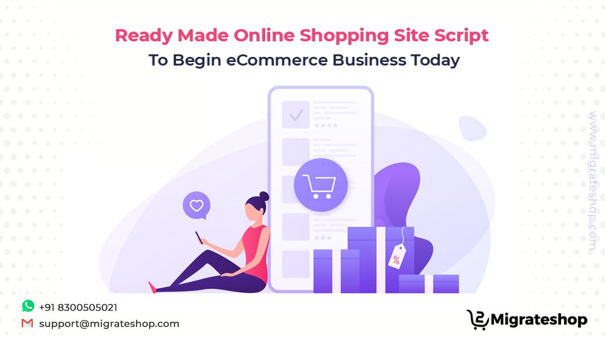 Online Shopping Site Script - Migrateshop