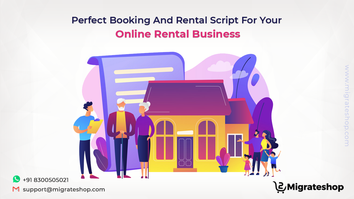 Booking and Rental Script