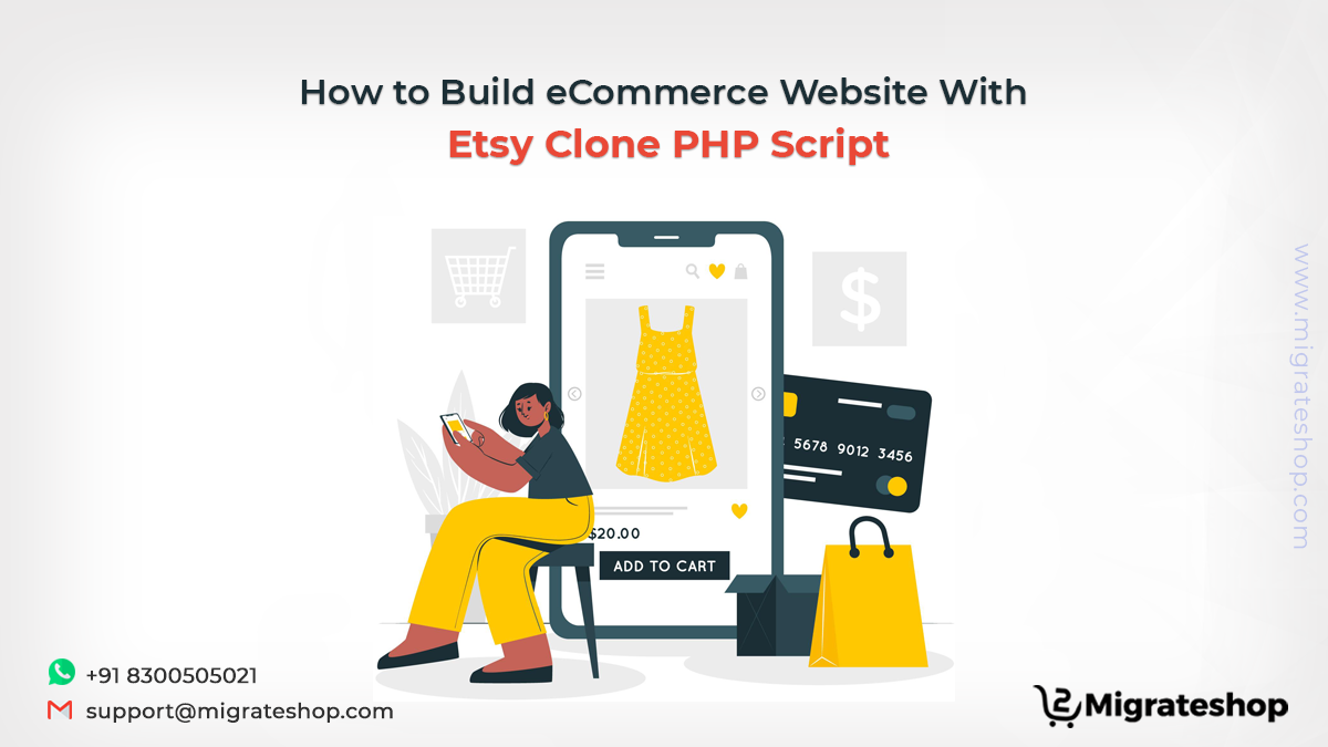 How to Build eCommerce Website With Etsy Clone PHP Script