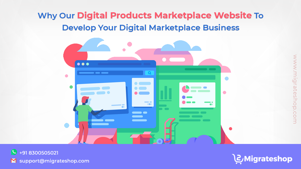 Digital Products Marketplace Website