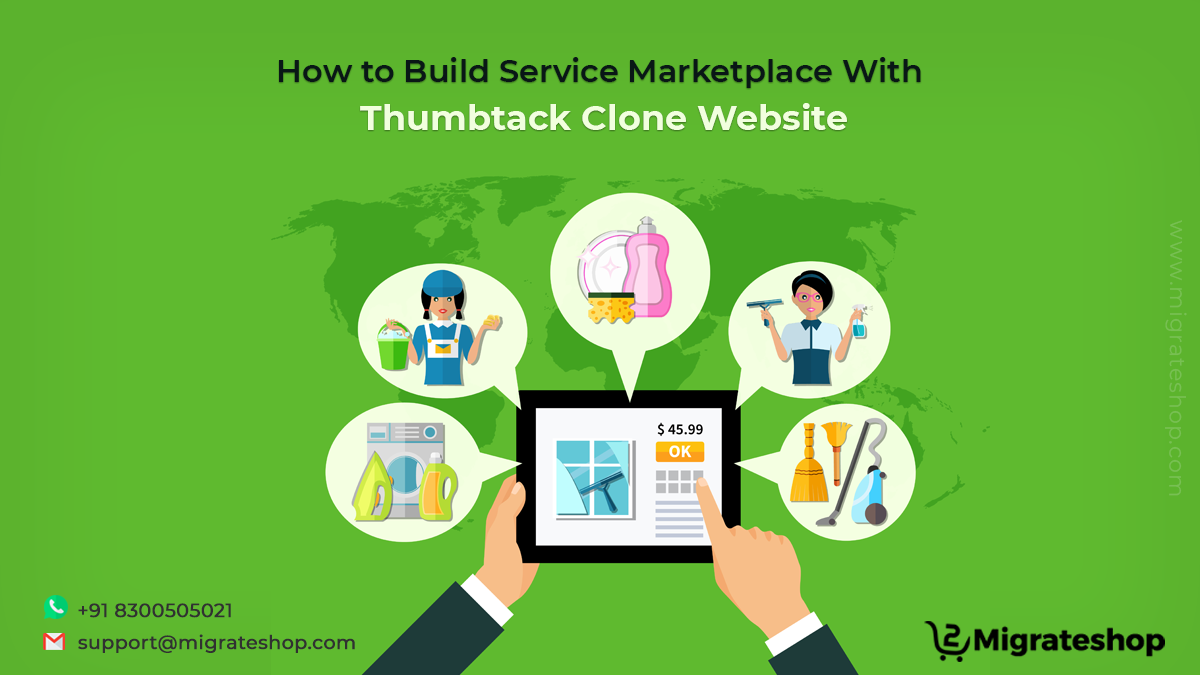 How to Build Service Marketplace With Thumbtack Clone Website