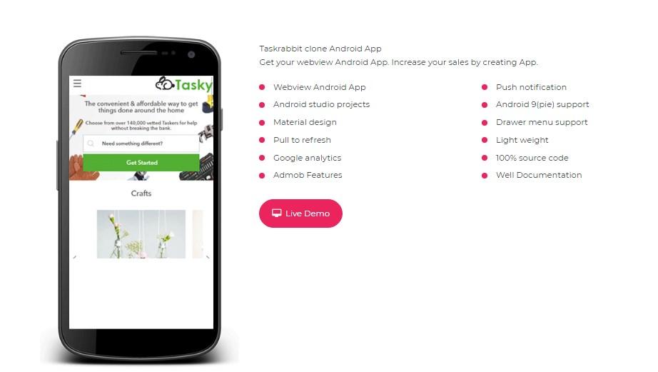 Taskrabbit-clone-android-app