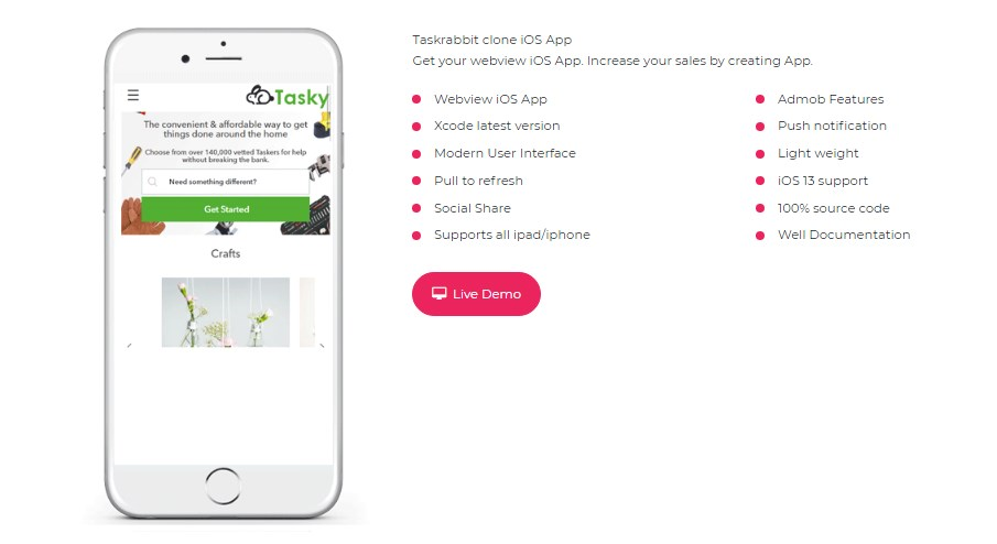 Taskrabbit-clone-ios-app