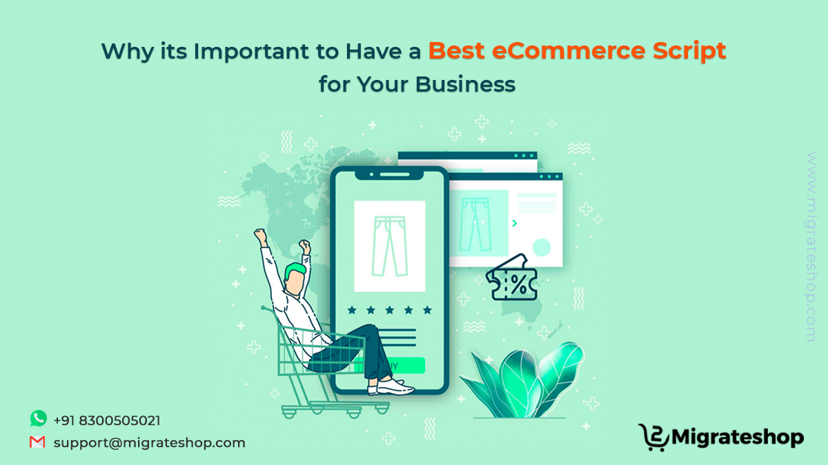 Why its Important to Have a Best eCommerce Script for Your Business