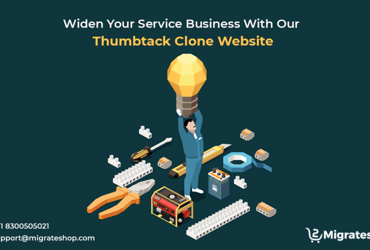 Widen Your Service Business With Our Thumbtack Clone Website