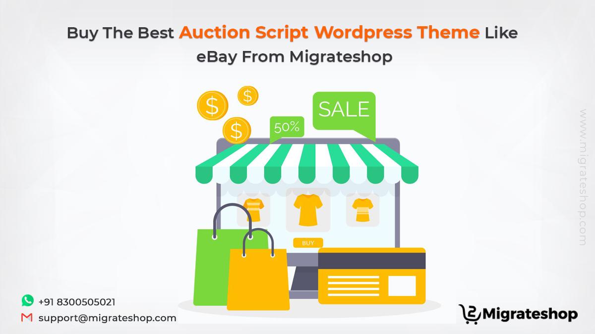 Auction Script WordPress Theme