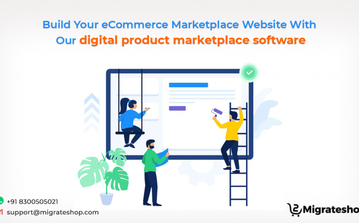 Digital Product Marketplace Software