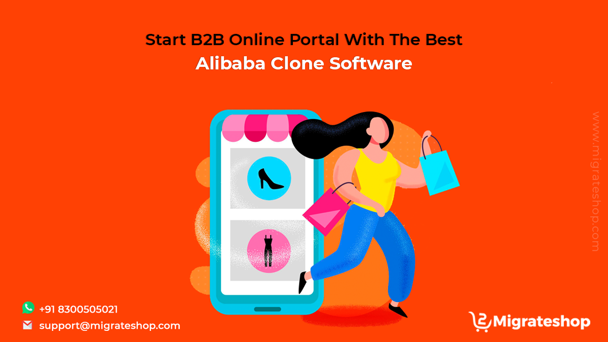 Start B2B Online Portal With The Best Alibaba Clone Software