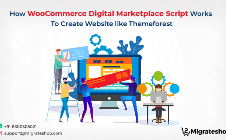 WooCommerce Digital Marketplace Script