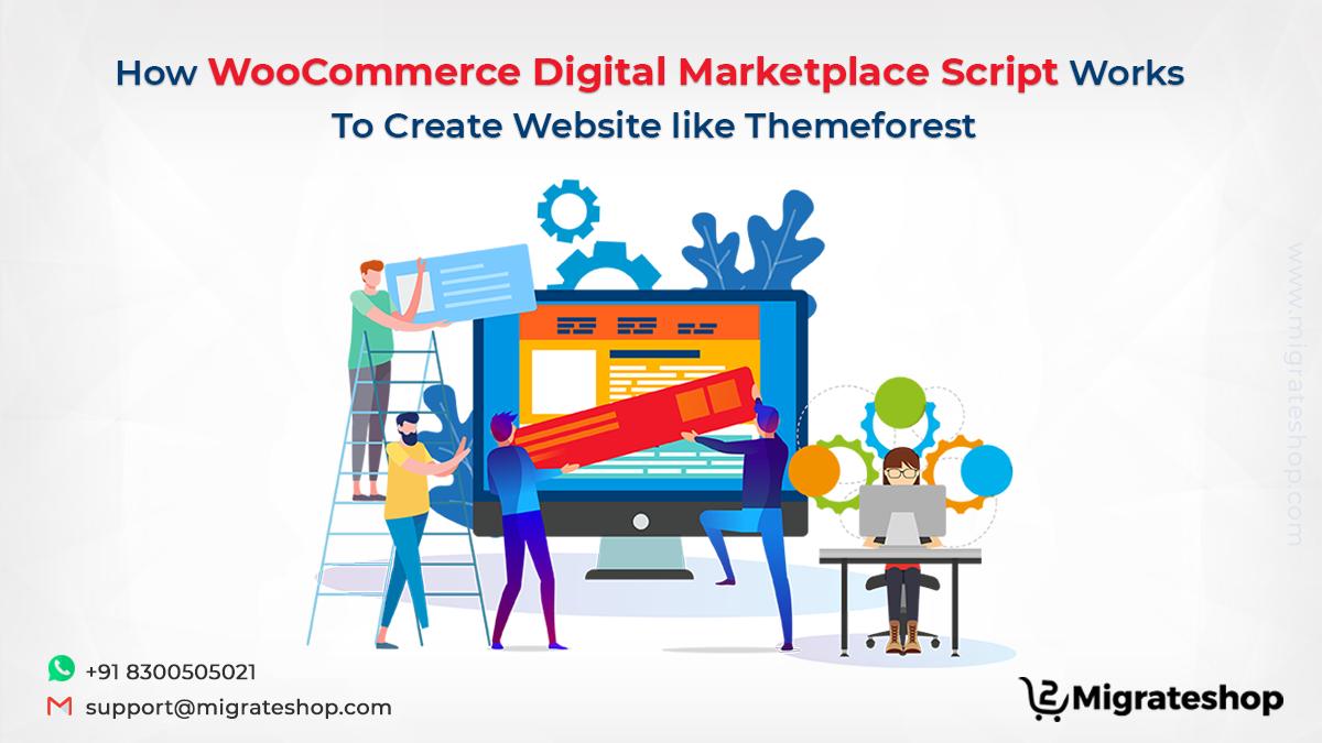 WooCommerce Digital Marketplace Script