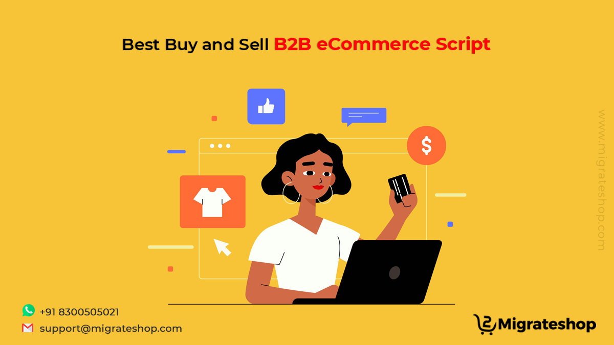 Best Buy and Sell B2B eCommerce Script online