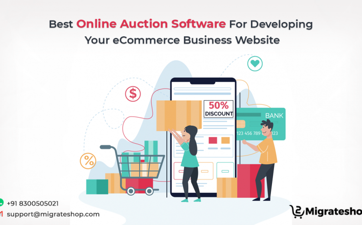 Best Online Auction Software For Developing Your eCommerce Business Website