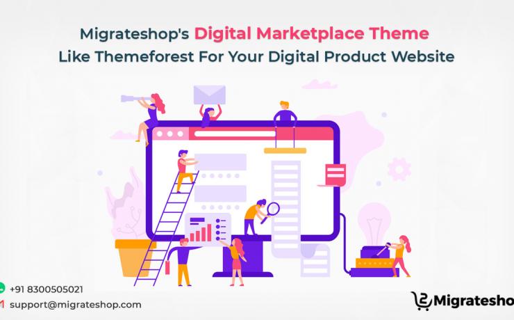 Digital Marketplace Theme