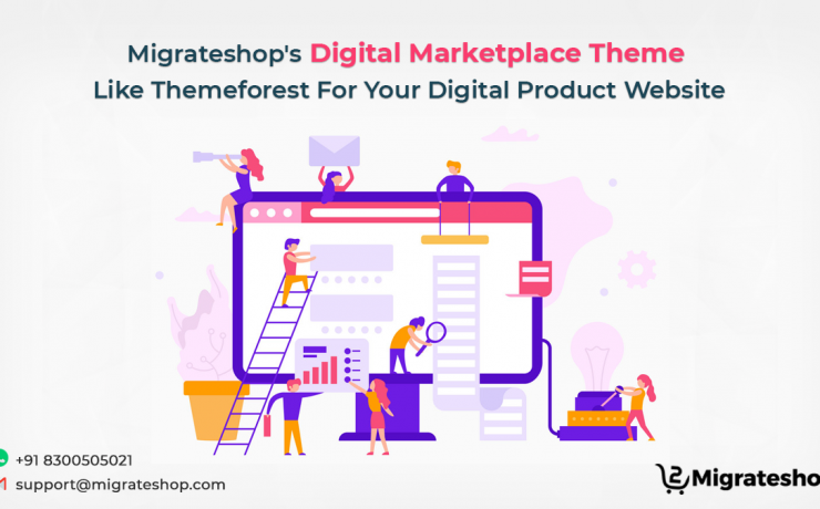 Digital Marketplace Theme