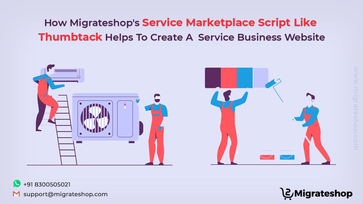 Service Marketplace Script like Thumbtack