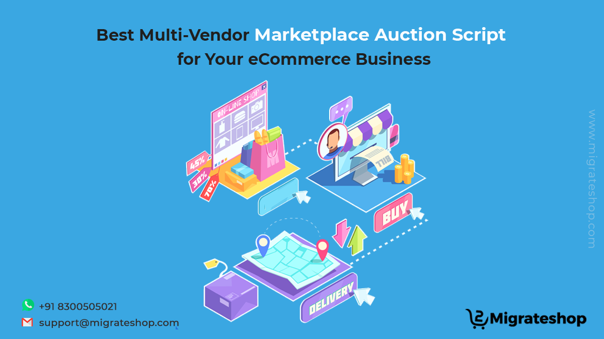 Best Multi-Vendor Marketplace Auction Script for Your eCommerce Business