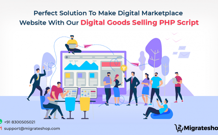 Digital Goods Selling PHP Script