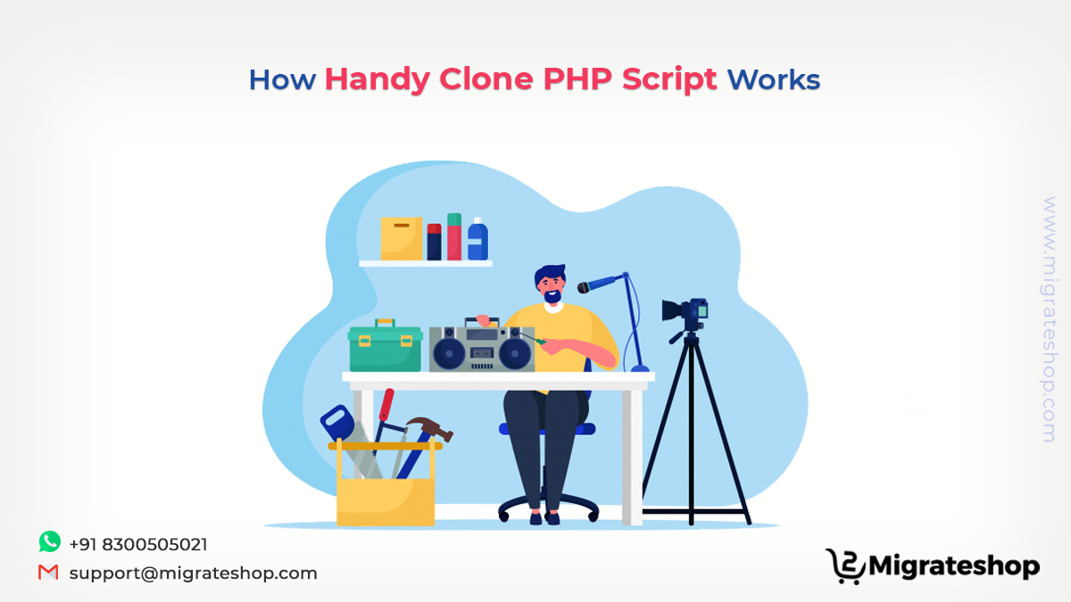 How Handy Clone PHP Script works