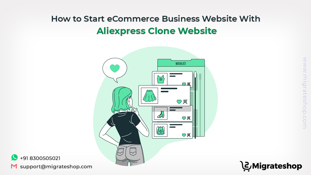 How to Start eCommerce Business Website With Aliexpress Clone Website