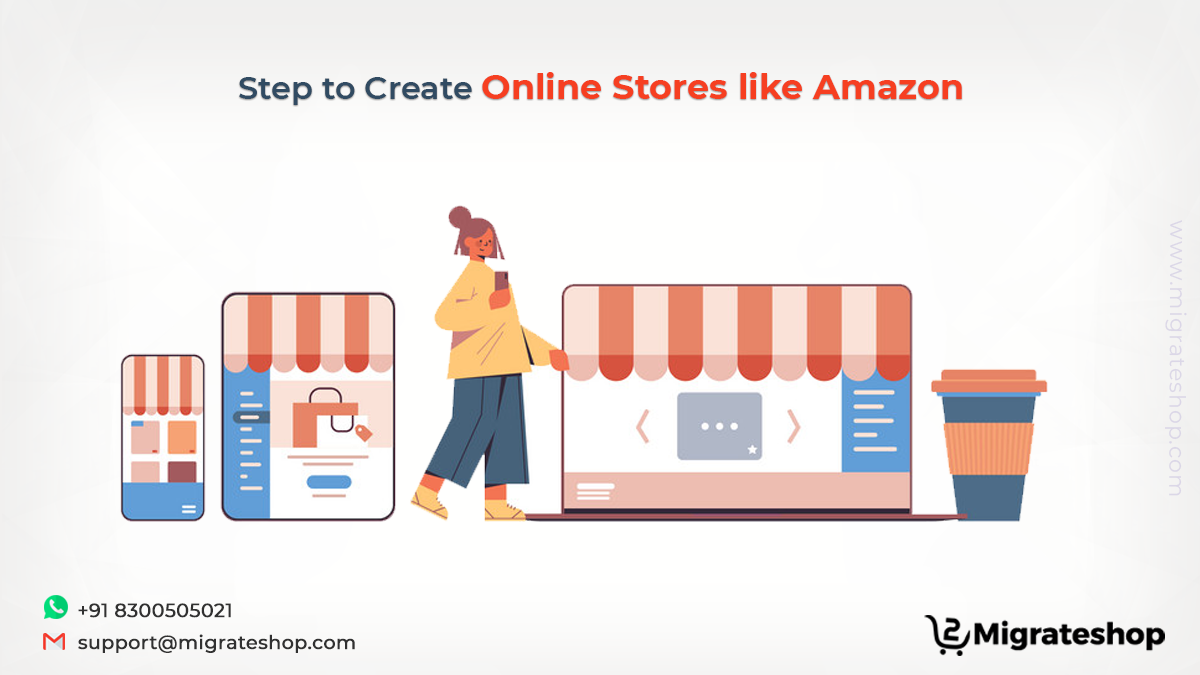 Step to Create Online Stores like Amazon