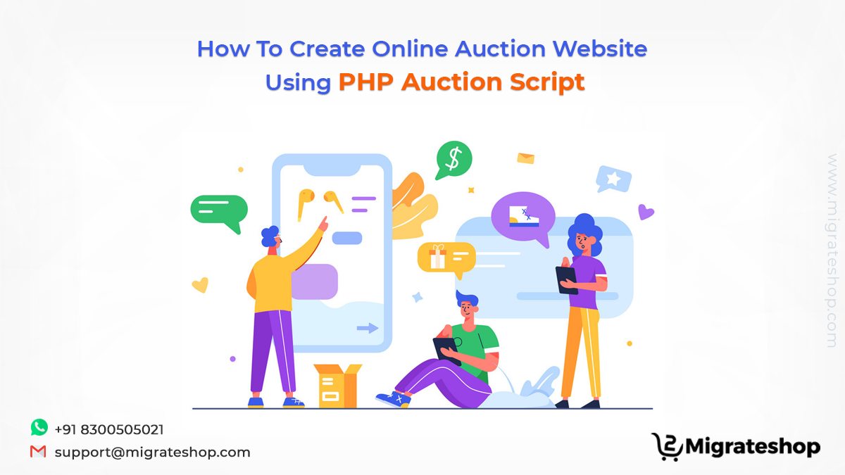 How To Create Online Auction Website Using PHP Auction Script