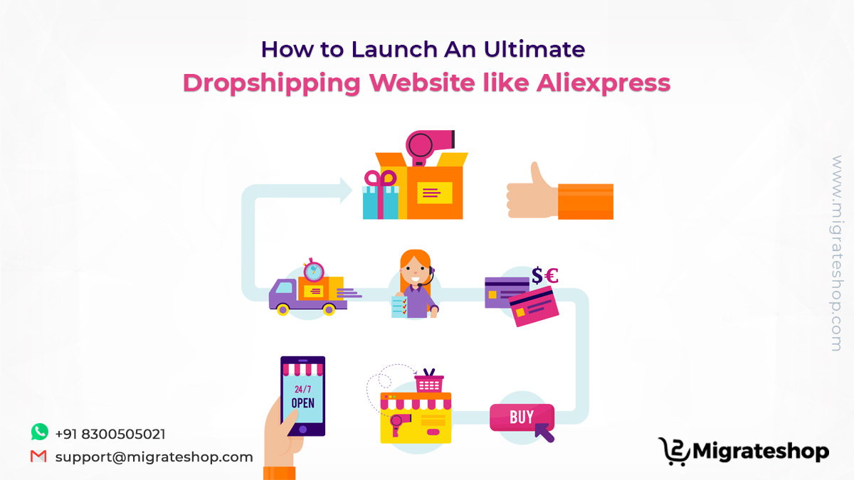 How to Launch an Ultimate Dropshipping Website like Aliexpress
