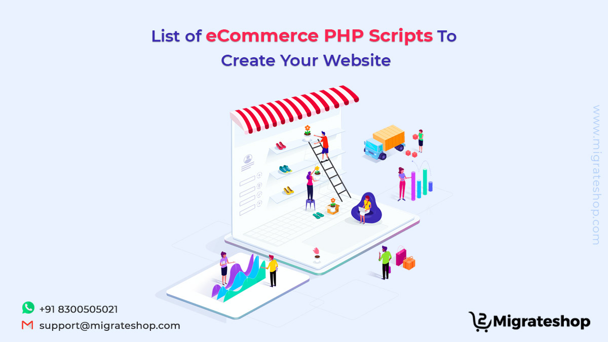 List of eCommerce PHP Scripts To Create Your Website