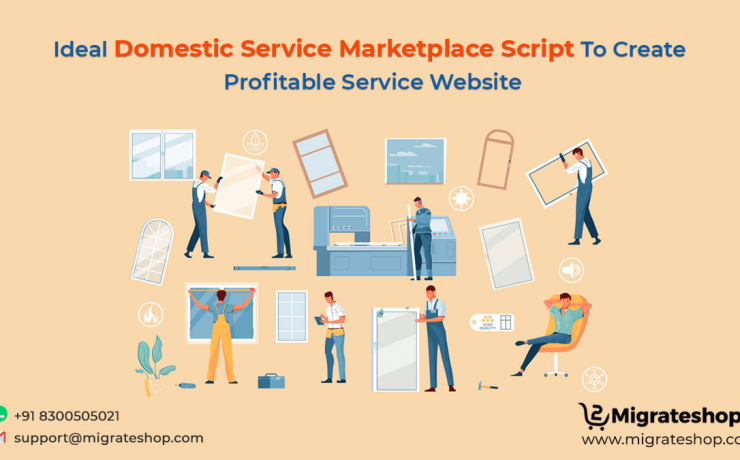 Domestic Service Marketplace Script